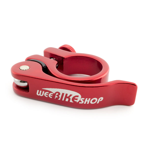 WeeClamp™ 25.4mm Quick Release Red Seat Clamp