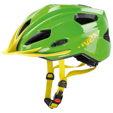 UVEX Quatro Junior Bicycle Helmet - Green