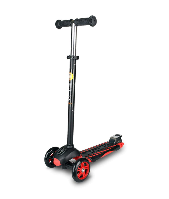 YBIKE GLX Pro 3-Wheel Kick Scooterr - Red - Tikes Bikes - 1