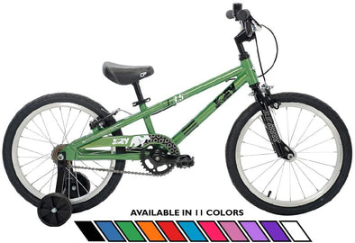 "Joey 3.5 Aluminum 18"" Kids Bike for age 4-7 in Green"