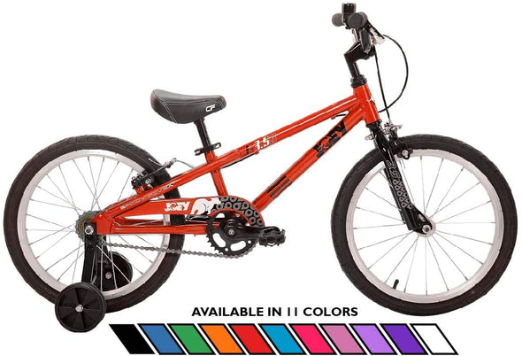 "Joey 3.5 Aluminum 18"" Kids Bike for age 4-7 in Red"