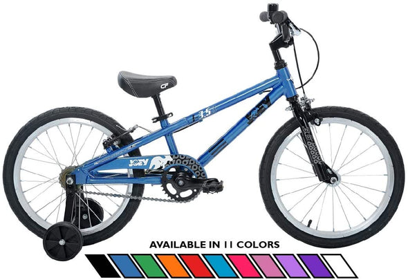 "Joey 3.5 Aluminum 18"" Kids Bike for age 4-7 in Blue"