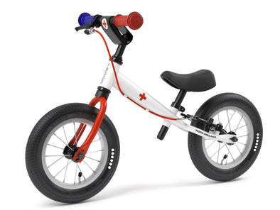 "TooToo AMBULANCE 12"" Balance Bike by Yedoo  New RESCUE Collection"