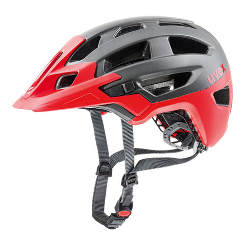 UVEX Finale Enduro Cycling Helmet Black/Red