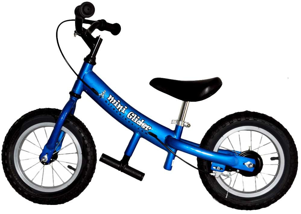2017 Mini Glider 12 Inch Balance Bike With Air Tires Tikes Bikes
