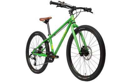 "Cleary Bikes Meerkat 24"" Kid's Bicycle - AstroTurf Green - Tikes Bikes - 1"