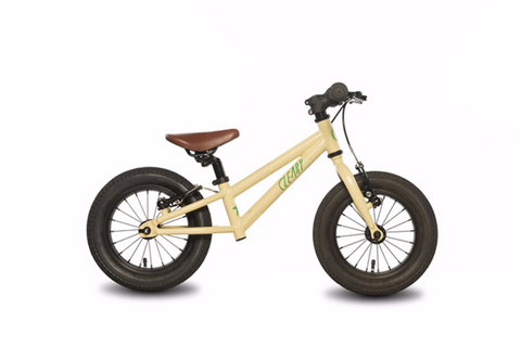 "Cleary Bikes Starfish 12"" Balance Bike - Super Cream - Tikes Bikes - 4"