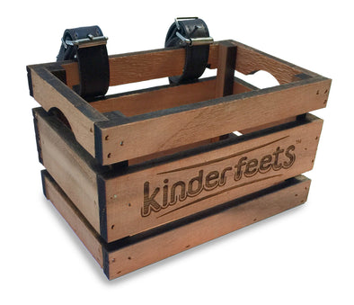 Kinderfeets Crate for Kinderfeets Retro, Classic and Tiny Tot. It also fits many other (balance) bikes