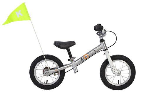 ByK E-200L Polished Alloy Balance Bike