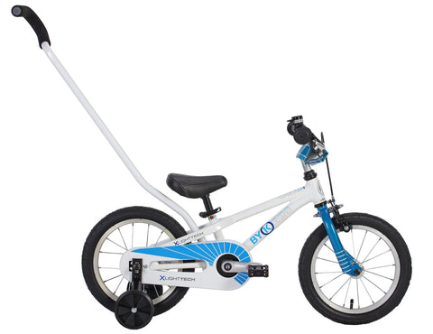 "ByK E-250 14"" Cyan Blue Kids Bicycle"