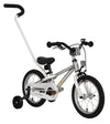 "ByK E-250 14"" Polished Alloy Kids Bicycle"