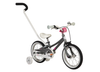 "ByK E-250 14"" Kid's Bicycle Charcoal/Neon Pink"