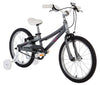 "ByK E-350 18"" Charcoal Kid's Bicycle"