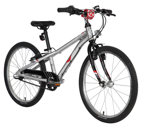"ByK E-450x3i MTR Polished Alloy 20"" Kid's Bicycle"
