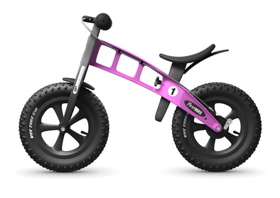 "FirstBIKE Fat 12"" Balance Bike in Pink -Tikes Bikes"