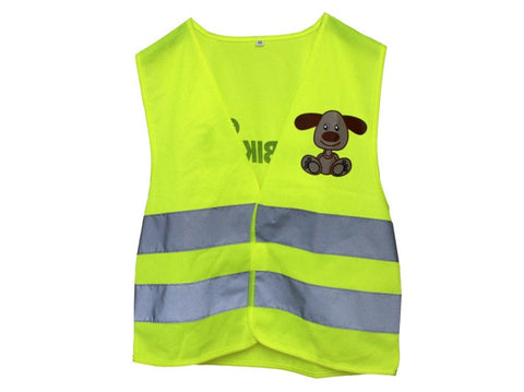 FirstBIKE Safety Reflective Vest - Extra Small / Green - Tikes Bikes - 1