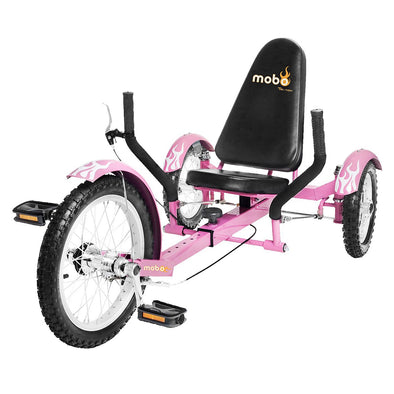 Mobo Triton The Ultimate Three Wheeled Cruiser pink