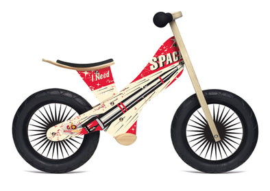 Kinderfeets Retro Rocket Balance Bike