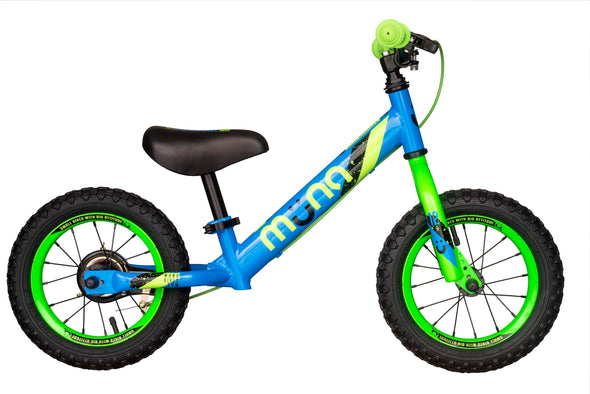 "Muna 12"" Balance Bike in Blue - Tikes Bikes"