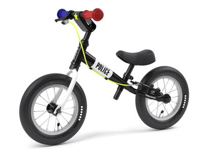 "TooToo POLICE 12"" Balance Bike by Yedoo New RESCUE Collection"