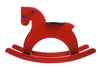 Playsam Swedish Wood Rocking Horse - Red - Tikes Bikes - 1