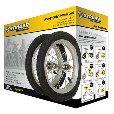 Strider Wheel Set with Air Tires -  - Tikes Bikes