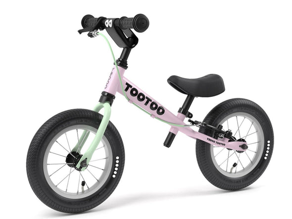 "TooToo Pink Lemonade 12"" Balance Bike by Yedoo  New OOPS Collection"