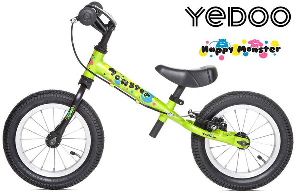 "TooToo Happy Monster Limited Edition 12"" Balance Bike by Yedoo"