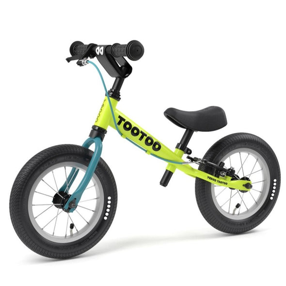 "(Pre-Order ) TooToo Key Lime 12"" Balance Bike by Yedoo OOPS Collection"