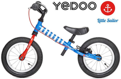 "TooToo Little Sailor Limited Edition 12"" Balance Bike by Yedoo"