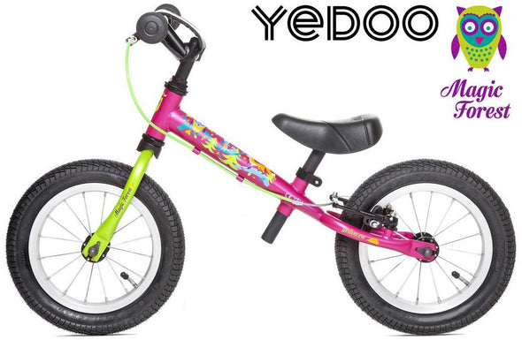 "TooToo Magic Forest Limited Edition 12"" Balance Bike by Yedoo"