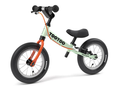 "TooToo Green Tea 12"" Balance Bike by Yedoo New OOPS Collection"