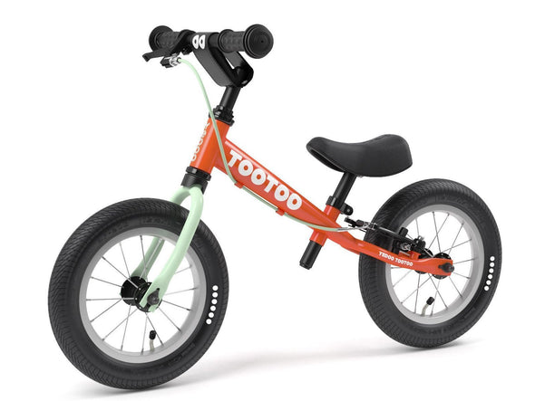 "TooToo Carrot Juice 12"" Balance Bike by Yedoo New OOPS Collection"