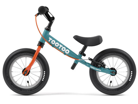 "TooToo Blue Lagoon 12"" Balance Bike by Yedoo New OOPS Collection"