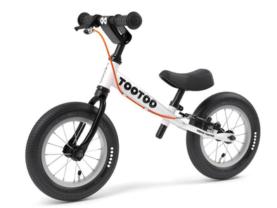 "TooToo Black and White Cookie 12"" Balance Bike by Yedoo  New OOPS Collection"
