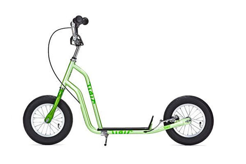 Yedoo Tidit Scooter - Green - Tikes Bikes - 1