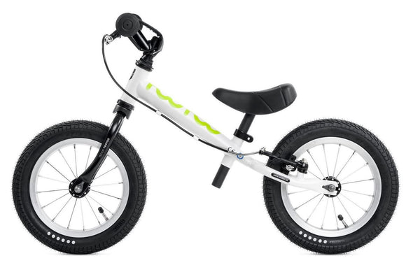 "Yedoo TooToo 12"" Balance Bike in White Tikes Bikes"