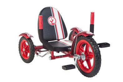 Mobo Mity Three Wheeled Cruiser Tricycle Red