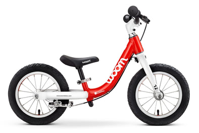 "Woom 1 12"" Balance Bike-Red- Tikes Bikes"