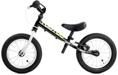 "Yedoo TooToo 12"" Balance Bike in Black Tikes Bikes"