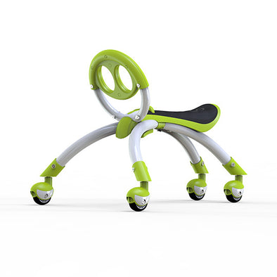 YBIKE Pewi Elite Bike Walking Ride On Toy, Green