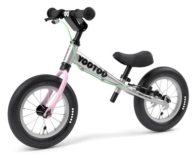 "YooToo Superlight 12"" Aluminum Balance Bike by Yedoo (Pink Lemonade)"
