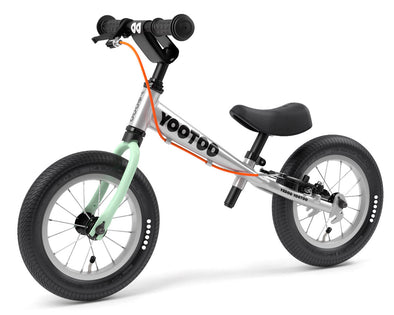 "YooToo Superlight 12"" Aluminum Balance Bike by Yedoo (Green Tea)"