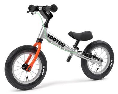 "YooToo Superlight 12"" Aluminum Balance Bike by Yedoo (Carrot Juice)"