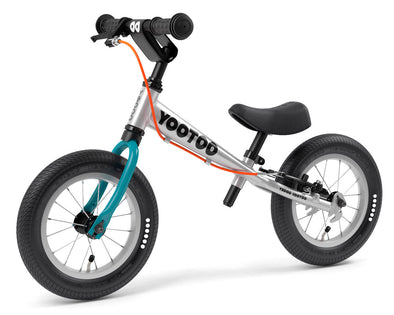 "YooToo Superlight 12"" Aluminum Balance Bike by Yedoo (Blue Lagoon)"