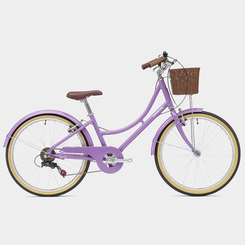 "(Pre-Order) Lola 24"" Traditional Girl's Bicycle By Adventure"