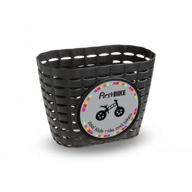 FirstBIKE Basket - Black - Tikes Bikes - 3