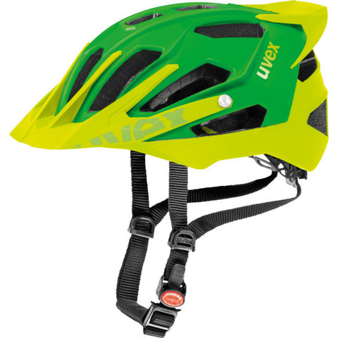 UVEX Quatro Pro Enduro Cycling Helmet Green/Lemon