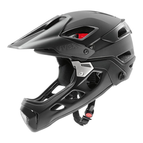 UVEX Jackkyl Full Face Cycling Helmet Black