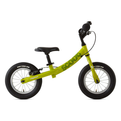 "Ridgeback Scoot 12"" Balance Bike in Lime -Tikes Bikes-"